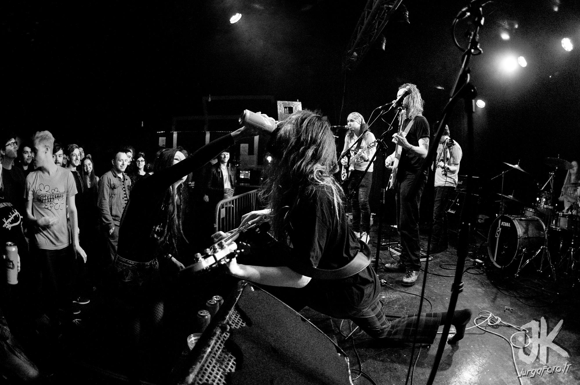 Visceral Noise Departament gig in Glasgow